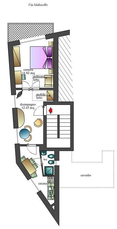 Appartamento-bilocale-malocello