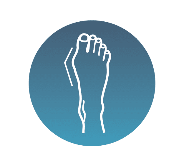 Resolution of chiropodial problems icon