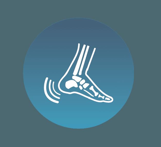 Ability, following successful surgery, to wear standard footwear icon
