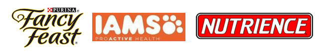 Fantasy feast, science diet, iams, nutrience