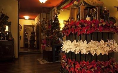 Decorazioni Sala Natale : Decorazioni sala ristorante: sala per matrimoni romantica ristorante