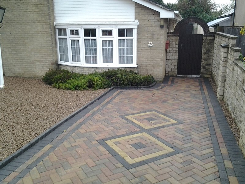 Pavement in place of new homes