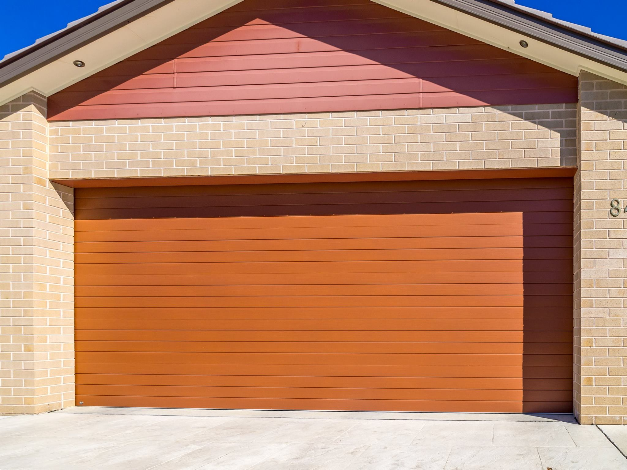 B\u0026D Panelift Seville in Timbercoat Teak & Our Gallery | Garage Doors and More