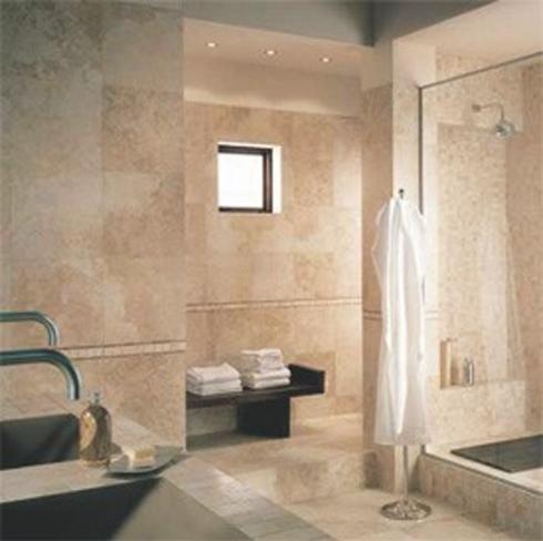 Rivestimenti bagno avorio