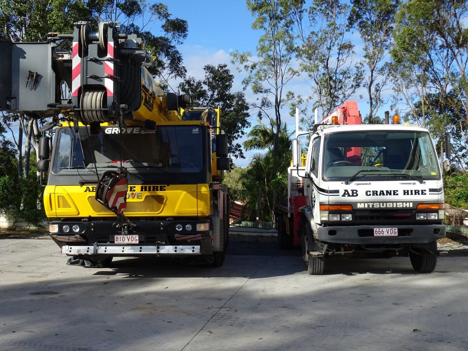 AB Crane Hire Cranes