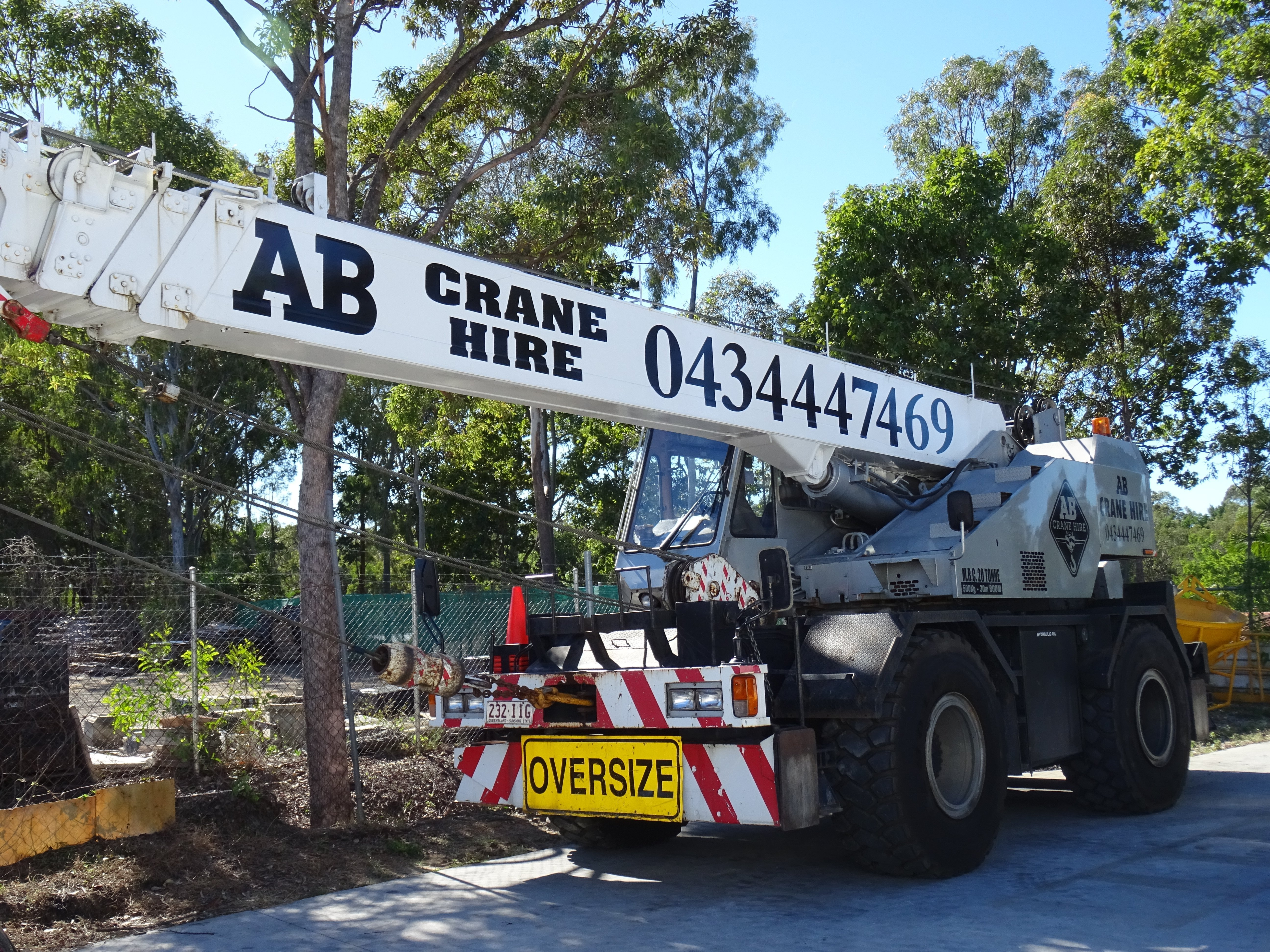 AB Crane Hire Gallery