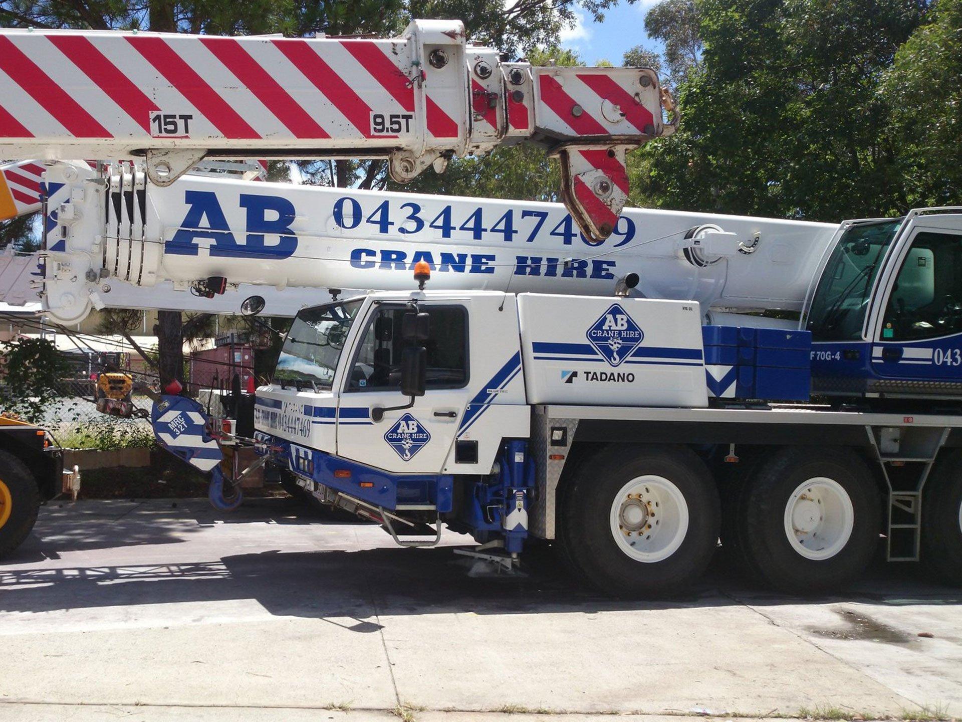AB Crane Hire Arundel Service