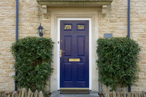 View of newly installed door
