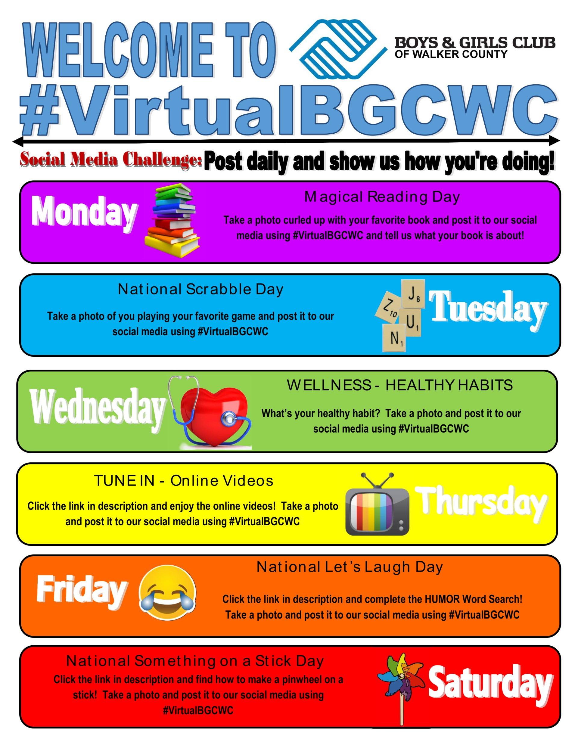 Welcome To Virtualbgcwc