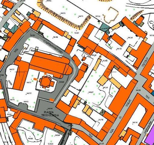 Esempio di mappa cartografico