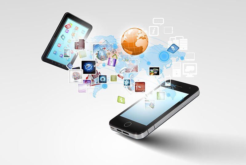 Uno smartphone e un tablet