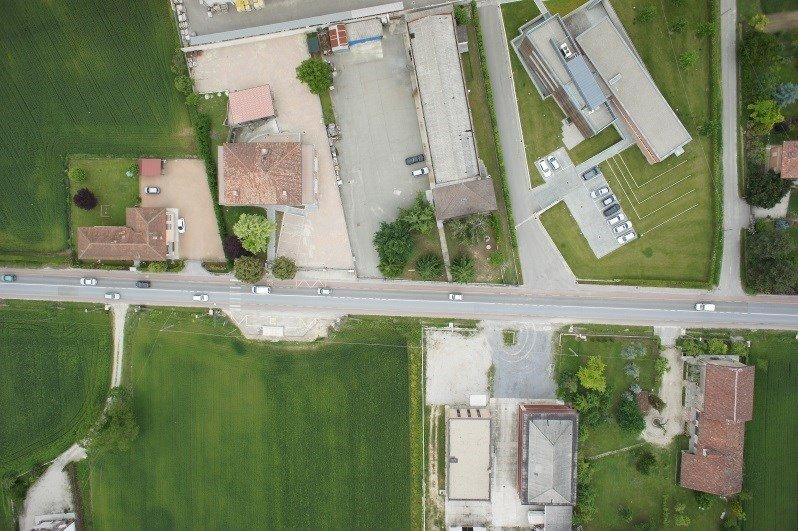 Foto aerea di la tenuta