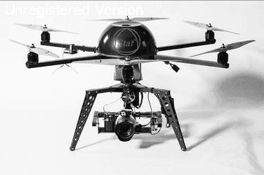 Modello di droni
