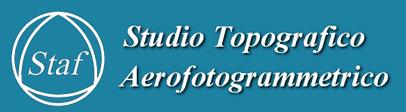 STAF STUDIO TOPOGRAFICO AEROFOTOGRAMMETRICO - LOGO