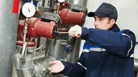 servizio di  manutenzione e assistenza di caldaie