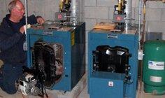gas boiler installation, Weymouth MA