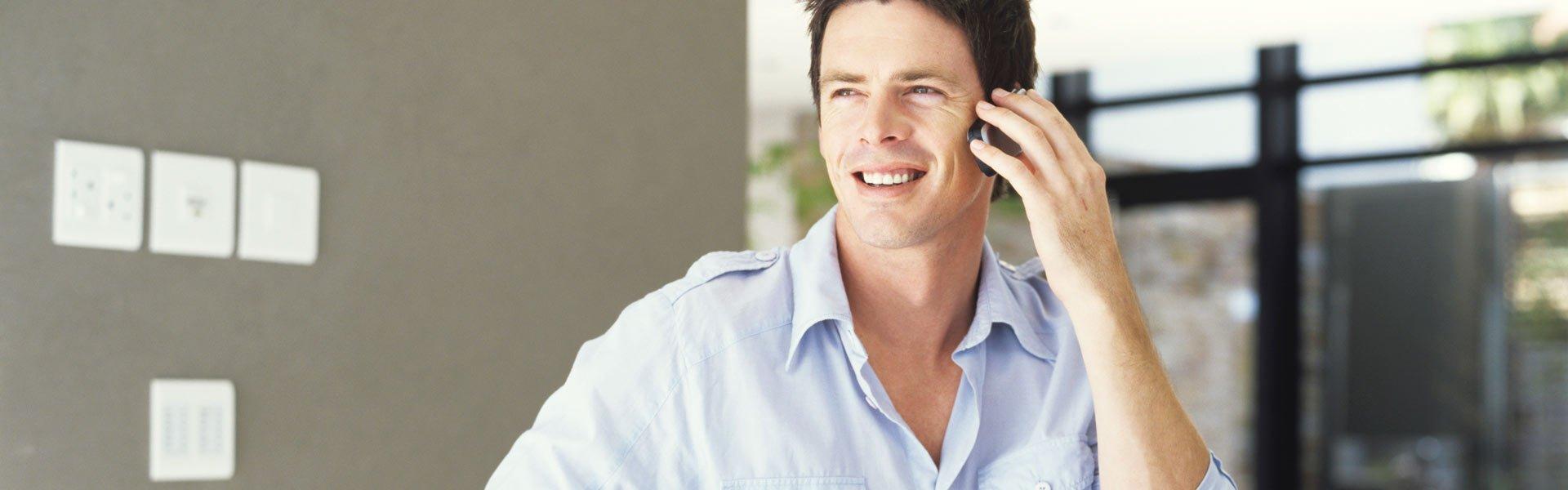 douglas communications systems man phone
