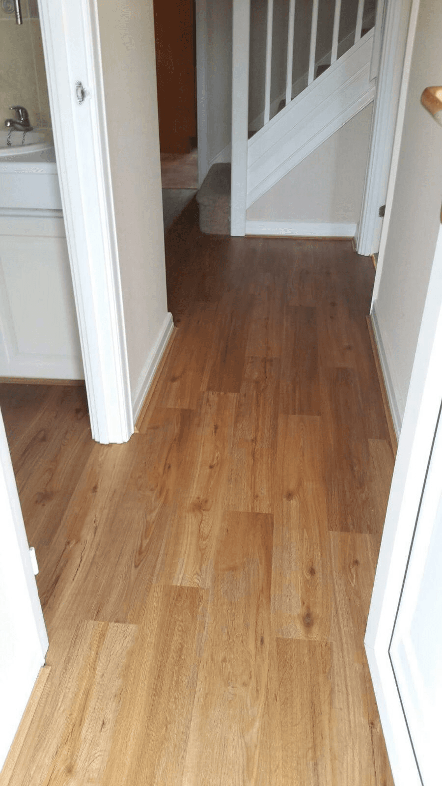 flooring near stairs