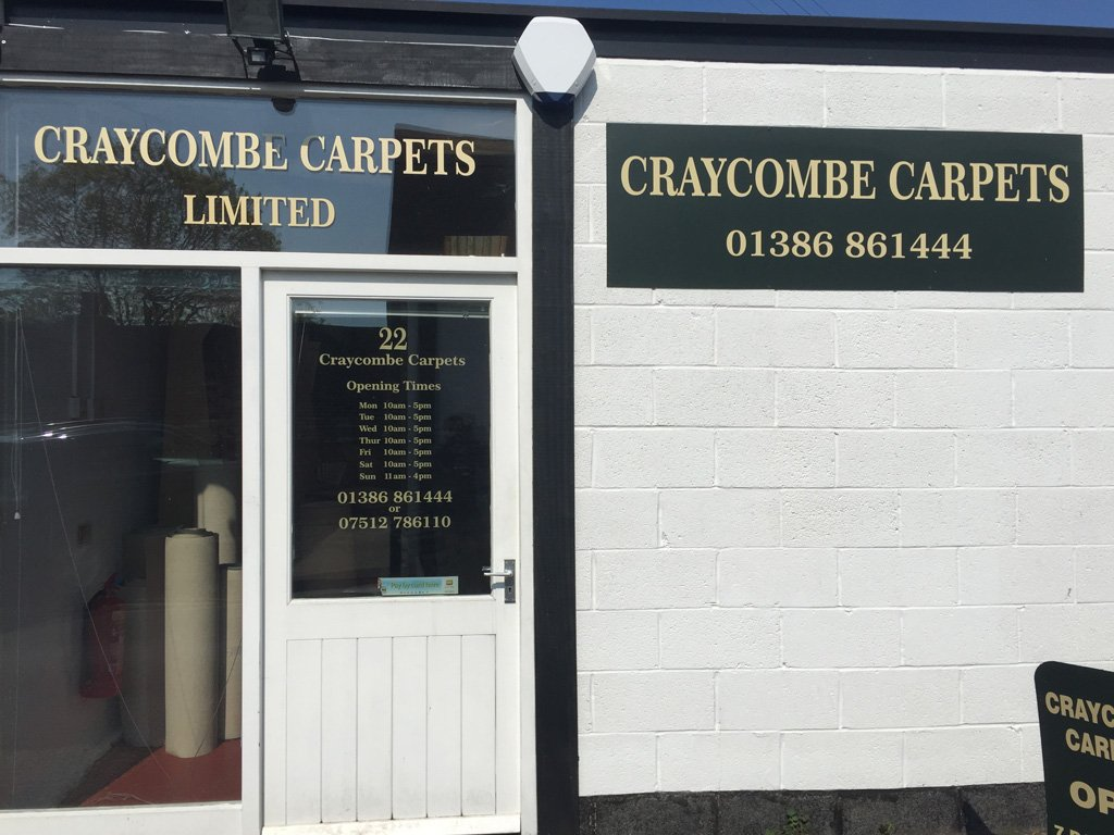 Craycombe Carpets shop