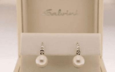 orecchini perle e brillanti salvini