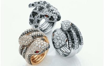 anelli a serpente crivelli
