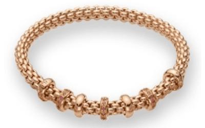 bracciale flex in oro bergamo