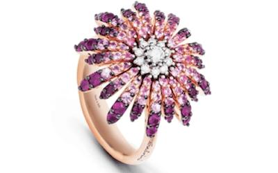 anello con pietre preziose bergamo