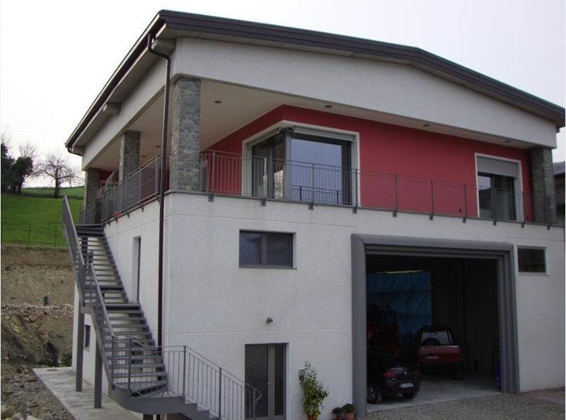 Realizzazione di capannone con annessa abitazione sito in Beduzzo Parma