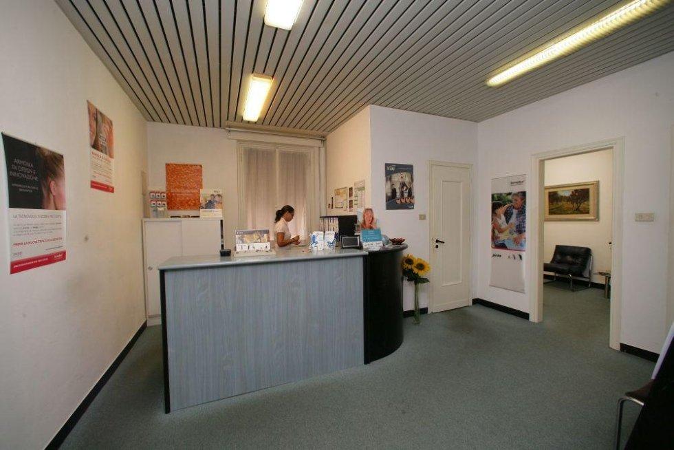 Ingresso centro otoacustico