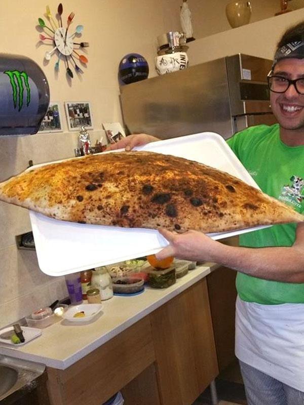 panzerotto XL al forno