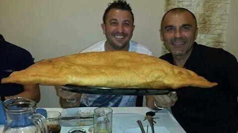 panzerotto XL fritto
