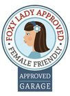 Foxy lady approved logo