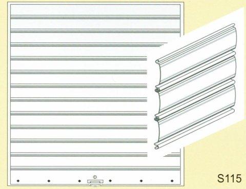 avvolgibile alluminio Spagnoli Serrande