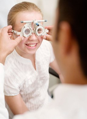 Eye tests for your children