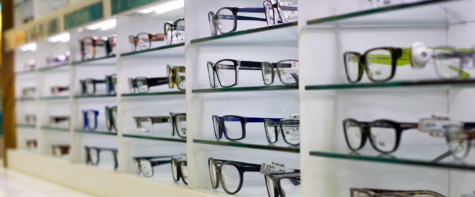 Branded glasses frames