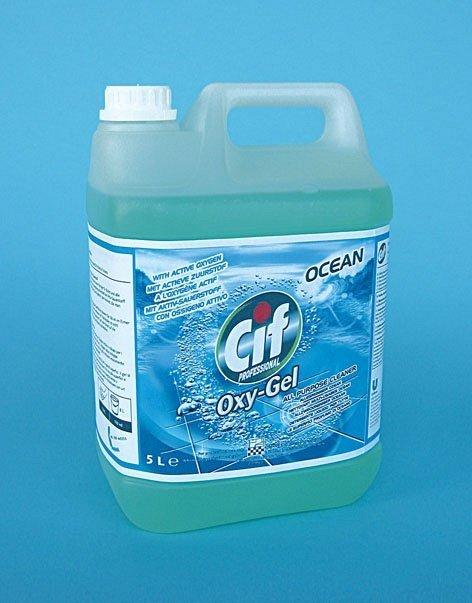 una confezione di detergente della marca Cif