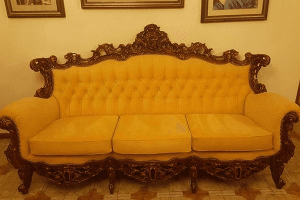 rivestimento divano classico
