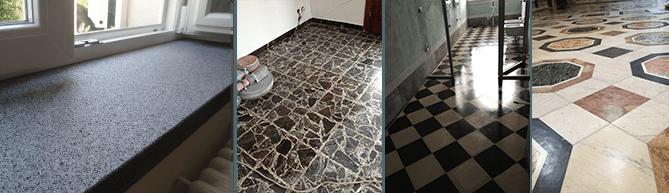 Trattamento marmi, trattamento pavimenti in granito
