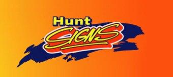 hunt signs logo