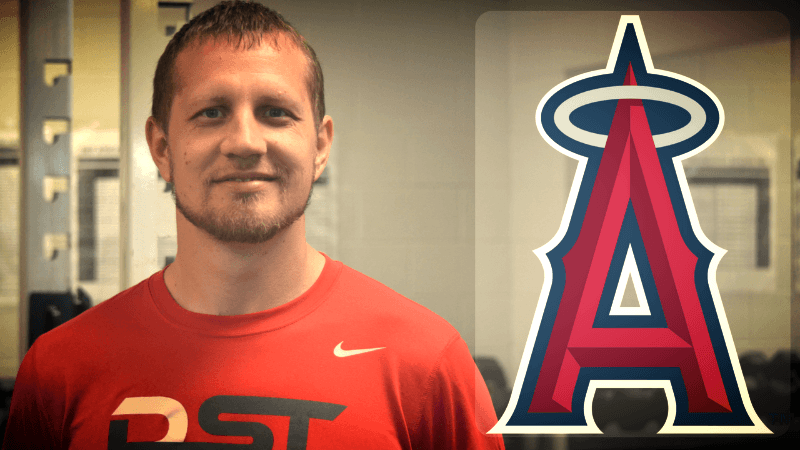 Lee Fiocchi, new strength and conditioning coach for the Los Angeles Angels