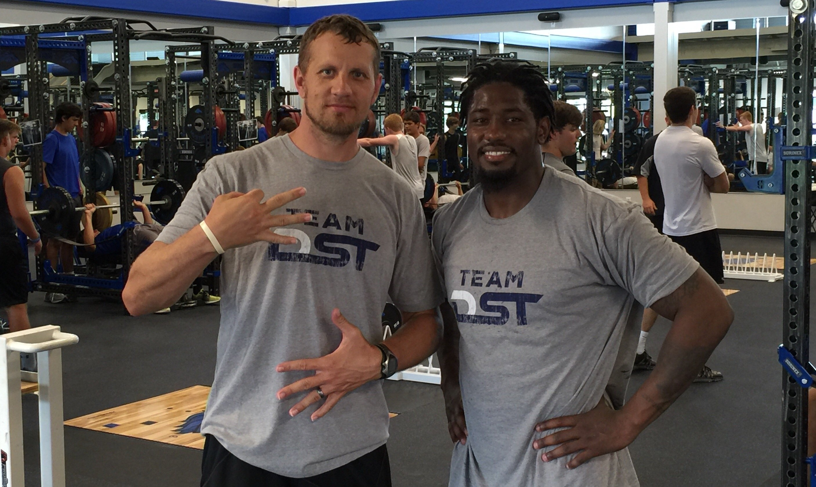 DST Owner Lee Fiocchi with NFL Running Back, Ben Tate