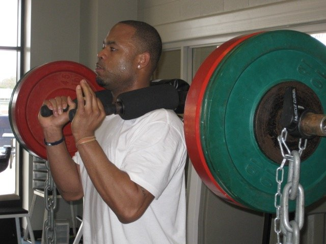 Carl Crawford working out at DST