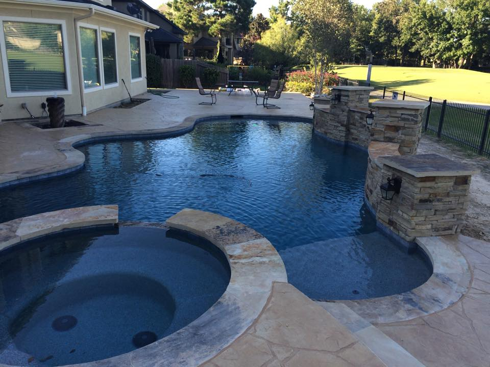 Custom Swimming Pool Contractor In Kingwood Humble