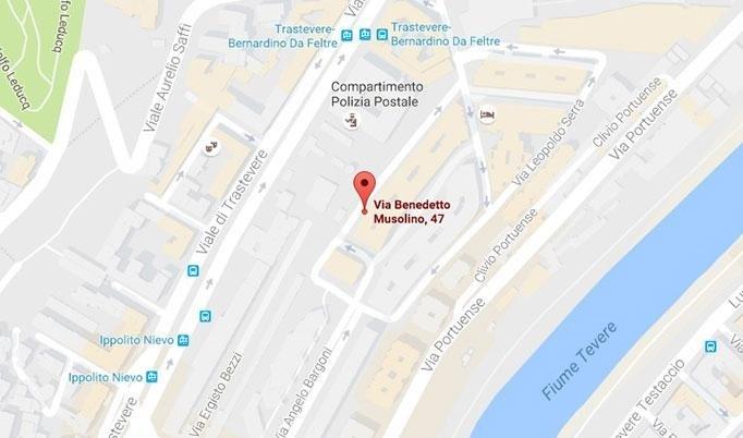 Mappa Via Musolino, 47/51 - Roma