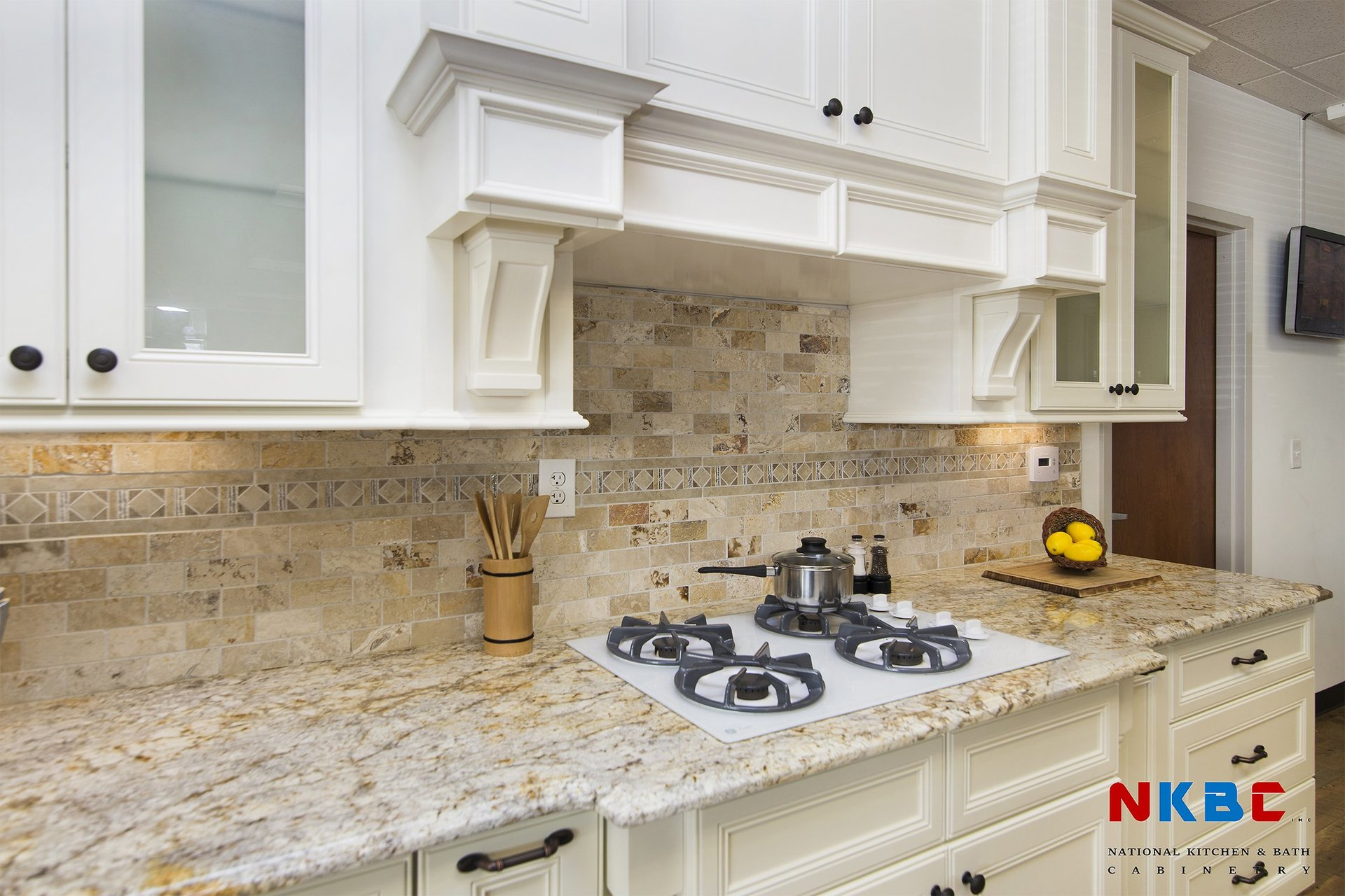 National Kitchen Bath Cabinetry Inc Concord Nc French Vanilla