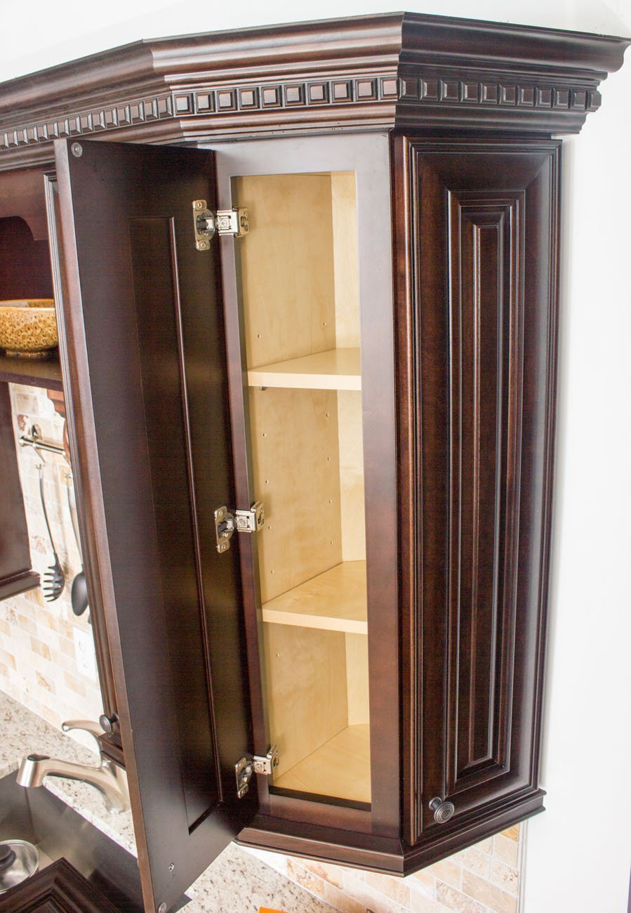 NKBC - Cabinet Manufacturer in Greensboro, NC - Dark Chocolate Cabinets