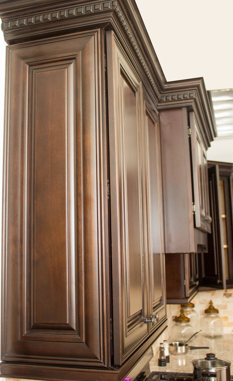 NKBC - Cabinet Distributor in Raleigh, NC  - Dark Chocolate Cabinets