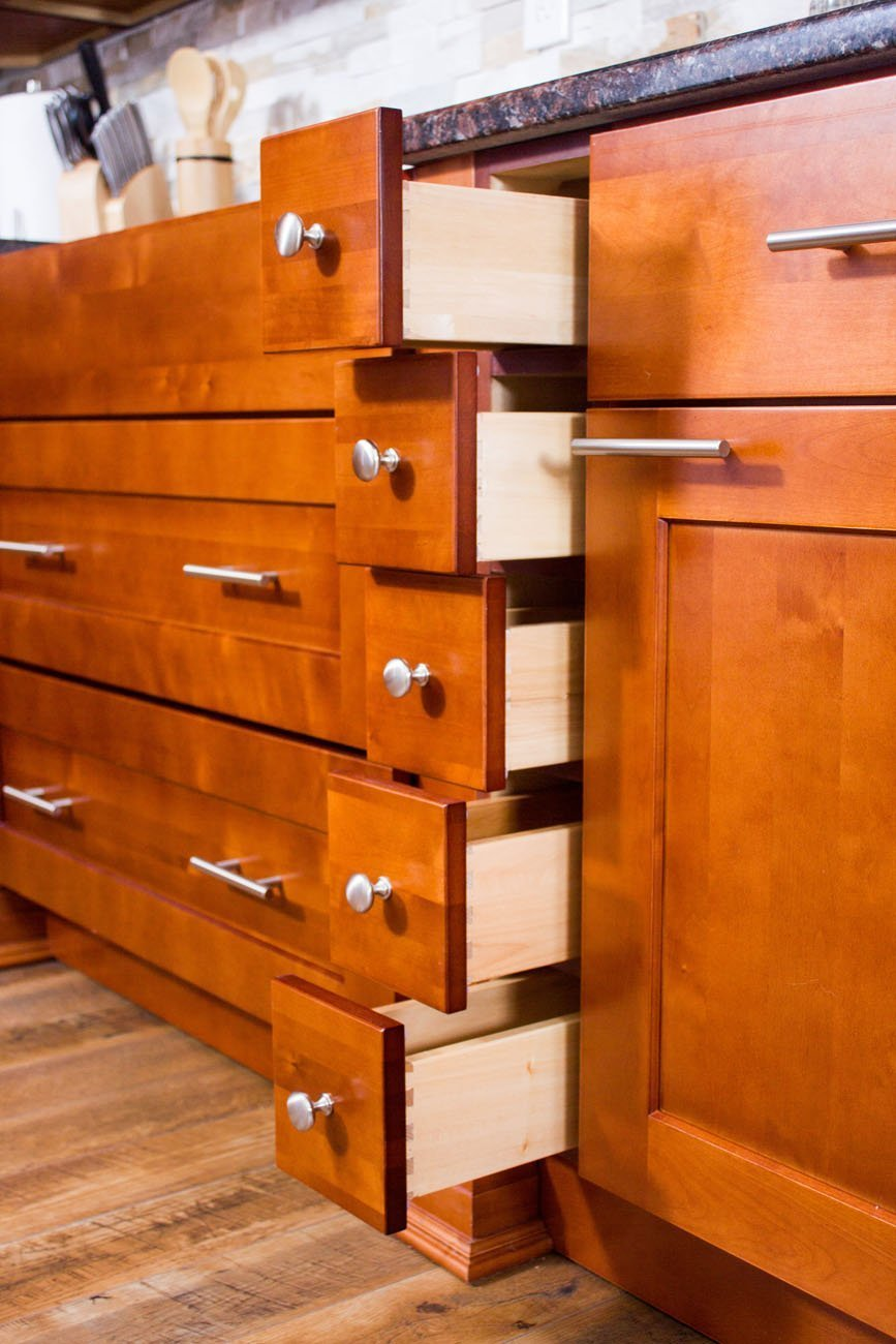 NKBC - Toffee Cabinets