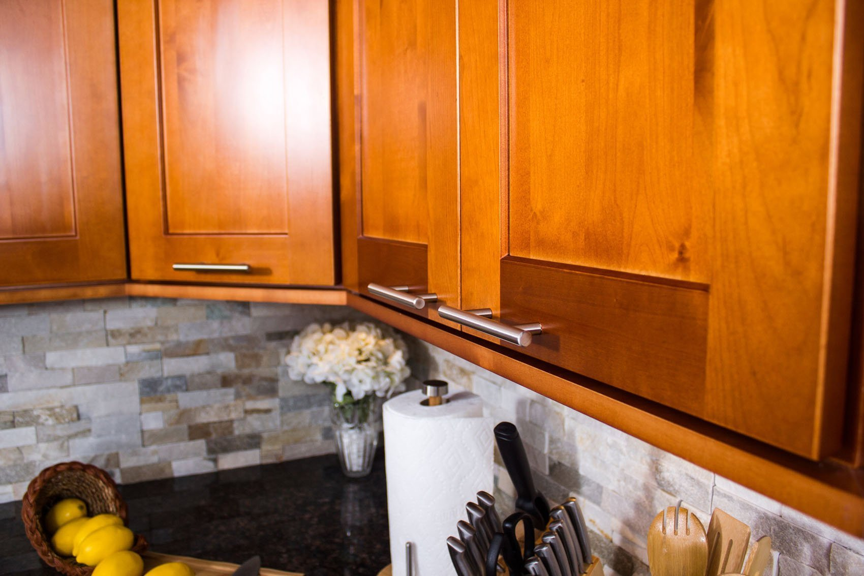 NKBC Inc - Toffee Cabinets with Handle