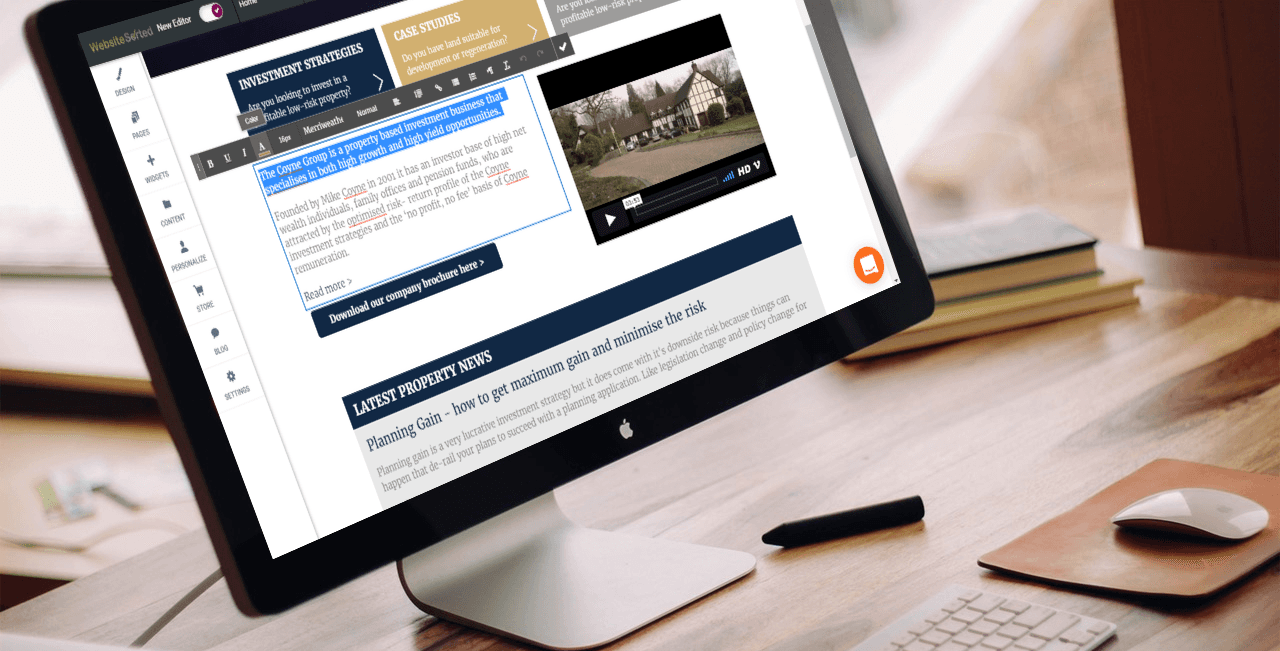 Content Managed Websites in Bristol & Cardiff